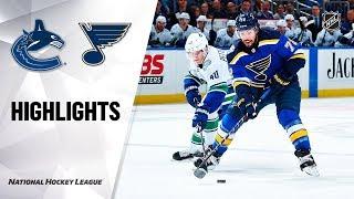 Canucks @ Blues 10/17/19 Highlights by NHL