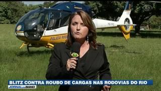 Para tentar conter o avanço dos roubos de carga no Rio de Janeiro, a Polícia Rodoviária Federal recebeu reforço.