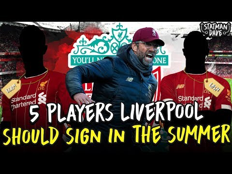 5 Players Liverpool Should Sign - In The Summer Transfer Window!