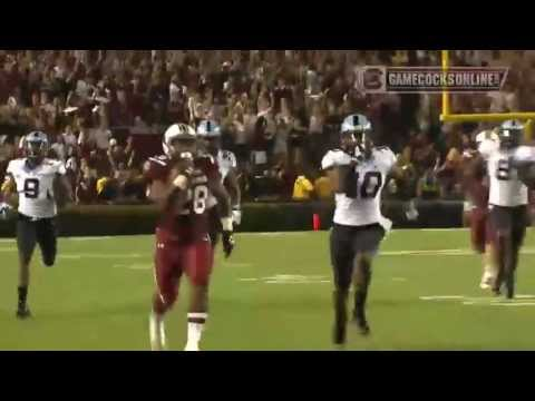 Mike Davis 75-yard touchdown run vs North Carolina 2013 video.