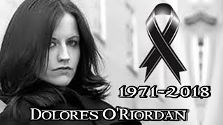 ADIÓS DOLORES ORIORDAN 19712018  The Cranberries