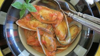 Mussel Recipe In Spicy Tomato Sauce -- The Frugal Chef