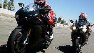 10. 2007 Ducati 1098S vs. Aprilia RSV1000R Dyno / Drag Test - MotoUSA
