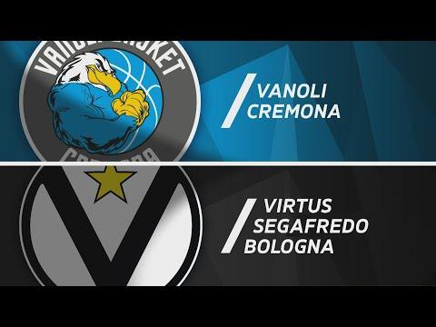 Serie A 2020-21: Vanoli Cremona-Virtus Bologna, gli highlights