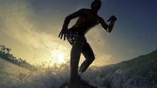 Weligama Sri Lanka  city images : Surfing Sri Lanka - Weligama bay Part 1