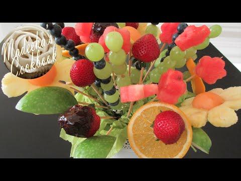 How to make Fresh Fruit Bouquet (Do It Yourself - DIY) (видео)
