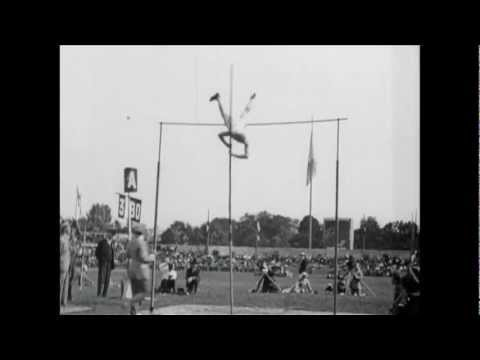 Landing on your feet - Lee Barnes - Pole vault - Paris 1924 Olympic Games