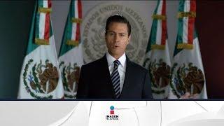 El Presidente Enrique Peña Nieto habla del aumento de las gasolinas y la relación con el gobierno de Estados Unidos.