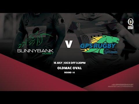 Queensland Premier Rugby R16: Sunnybank v GPS