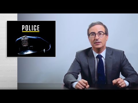 Police: Last Week Tonight with John Oliver