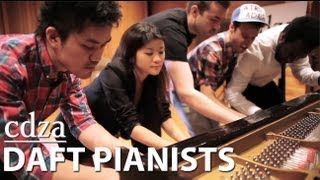 Daft Pianists (cover of Get Lucky) - YouTube