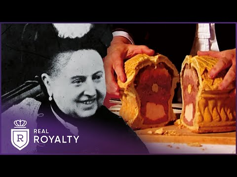Queen Victoria's Towering Game Pie | Royal Upstairs Downstairs | Real Royalty