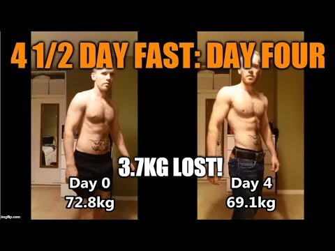 Nutrition - Fast Mimicking Diet ~400 cals. Day 4 of 4!!!