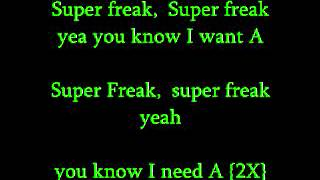 Supa Freak-Young Jeezy Lyrics On Screen