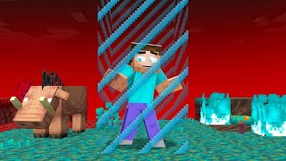 We Are STUCK in The NEW NETHER! (Minecraft Challenge)