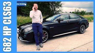 Download Lagu 682 HP / 1000 NM Mercedes Benz CLS 63 AMG S Review | DTE Systems (English Subtitles) Mp3