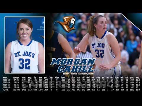 Morgan Cahill Breaks SJC Women's Basketball Career Blocked Shot Record