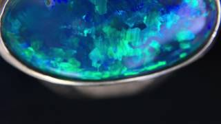 The Most Beautiful Black Opal Ring