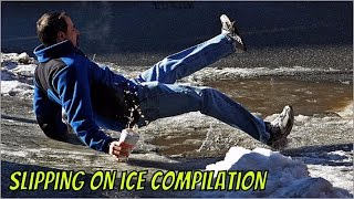 SLIPPING ON ICE COMPILATION ►►Ice. People falling. Pretty self explanatory. Enjoy your current health and vitality by watching other people slip, stumble, flop, and fall through ice! ►Visit the Clip'wreck Channel to see more awesome, funny, and  amazing Compilation Videos! (https://www.youtube.com/channel/UCTep0GOBv8YPhCCbXVtDBLQ)►Follow Clip'wreck on Twitter! (https://twitter.com/ClipwreckVideos)Music ►http://www.bensound.com ► http://www.purple-planet.com/home/4583818248 ► http://creativecommons.org/licenses/by/3.0/***********************************************************I am not the creator of this content. I am just a compiler of online content I find enjoyable. For any concerns about content ownership, please contact me at the address listed in my channel description.**********************************************************
