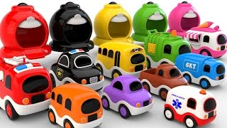 Video Colors for Children to Learn with Street Vehicles - Colours and Numbers Videos Collection MP3, 3GP, MP4, WEBM, AVI, FLV November 2017