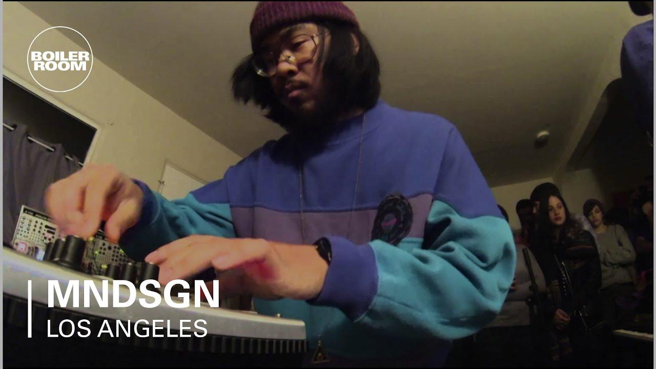 Mndsgn - Live @ Boiler Room LA 2014
