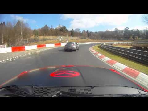 Rent4Ring MX5 Rental vs Megane RS265 on a Nürburgring Trackday