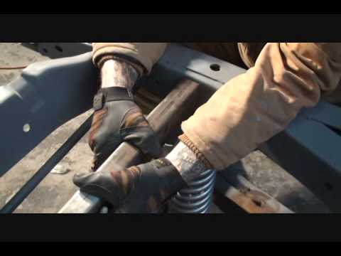 1961 GMC Rat Rod Truck-How To Install Rear Coilover Shocks, Part 3