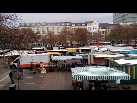 Hamburg: Wochenmarkt Harburg-Sand - 21.10.2017 - Teil ...