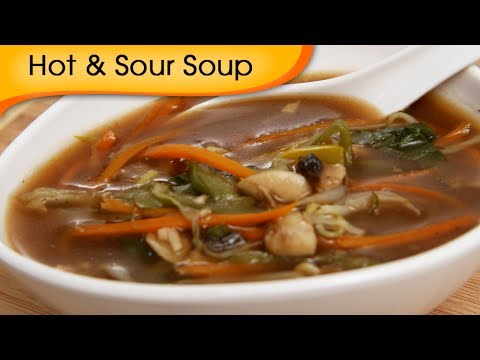 Hot and Sour Soup – Easy To Make Healthy Homemade Chinese Soup – Appetizer Recipe By Ruchi Bharani