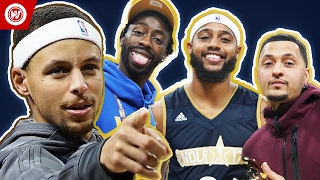 NBA All-Star Celebrity Game   FamousLos32 & MVP BdotAdot5