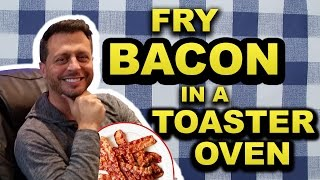 It's the easy, timed, and get-it-right every time method to fry bacon. And it's all done in a toaster oven. No splatter, no clean up. FOLLOW ME ON: TWITTER: ...
