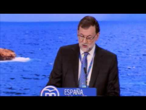 """Rajoy: """"Ponemos a España por delante de nuestros intereses cuando tenemos la más mínima oportunidad"""""""