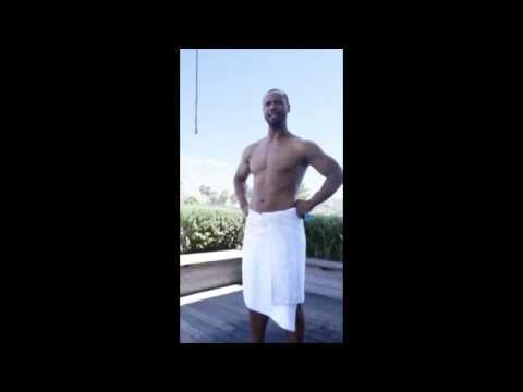 Old Spice Guy tries to take the ALS Ice Water Challenge