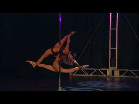 Huikeaa tankotanssia: Carly and Charlee – Pole Theatre USA 2017 Pro Division Overall Champions