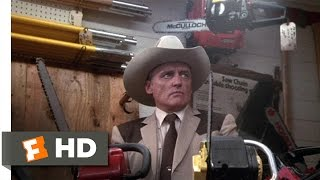 The Texas Chainsaw Massacre 2 (2/11) Movie CLIP - Chainsaw Shopping (1986) HD