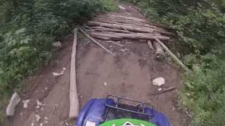 5. Yamaha Grizzly 125 with 1984 Honda TRX 200 !! GoPro