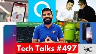 Tech Talks #497 - 100 iPhone Delhi Customs, Lenovo Bezel Less, Xiaomi S2, Oneplus 6 Live Photo