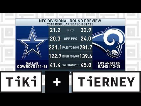 Video: Cowboys vs. Rams Preview   Tiki + Tierney