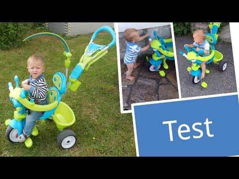 Test: Smoby Toys Dreirad Baby Driver Komfort 4-in-1 | Babyartikel.de