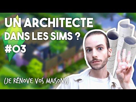 Un architecte rénove vos maisons dans Les Sims ! - LES SIMS 4 - JE RÉNOVE VOS MAISONS 03