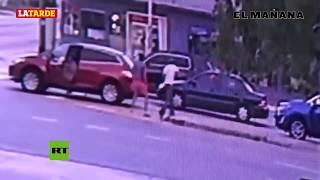 Difunden el momento en que el actor mexicano Pablo Lyle golpea fatalmente a un hombre en Miami