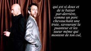 Arthur H - Lettre à Nora Feat.Nicolas Repac (Vidéo Lyrics)