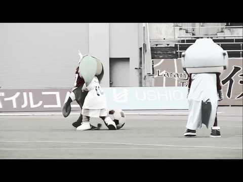 【愛媛FC】2019.4.27 第3回ゆるキャラサッカー プ …