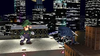 Luigi wins against every level nine CPU by doing absolutely nothing in Project M