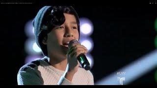 La Voz Kids | Camilo Velasquez canta 'Maps' en La Voz Kids