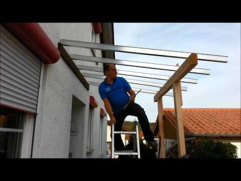 Wie plant man ein Vordach an der Haustür