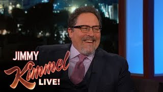 """Jon talks about the incredible success of all of the Marvel movies, his role in starting the Marvel Universe by directing Iron Man and he reveals that he wasn't sure whether it would be good or not.Caitlyn Jenner on Late Night Talk Show Hosts Teasing Bruce Jenner https://youtu.be/luSk8C9VhbwSUBSCRIBE to get the latest #KIMMEL: http://bit.ly/JKLSubscribeWatch Mean Tweets: http://bit.ly/KimmelMT10Connect with Jimmy Kimmel Live Online:Visit the Jimmy Kimmel Live WEBSITE: http://bit.ly/JKLWebsiteLike Jimmy Kimmel on FACEBOOK: http://bit.ly/KimmelFBLike Jimmy Kimmel Live on FACEBOOK: http://bit.ly/JKLFacebookFollow @JimmyKimmel on TWITTER: http://bit.ly/KimmelTWFollow Jimmy Kimmel Live on TWITTER: http://bit.ly/JKLTwitterFollow Jimmy Kimmel Live on INSTAGRAM: http://bit.ly/JKLInstagramAbout Jimmy Kimmel Live:Jimmy Kimmel serves as host and executive producer of Emmy-winning """"Jimmy Kimmel Live,"""" ABC's late-night talk show. """"Jimmy Kimmel Live"""" is well known for its huge viral video successes with 5.6 billion views on YouTube alone. Some of Kimmel's most popular comedy bits include - Mean Tweets, Lie Witness News, Jimmy's Twerk Fail Prank, Unnecessary Censorship, YouTube Challenge, The Baby Bachelor, Movie: The Movie, Handsome Men's Club, Jimmy Kimmel Lie Detective and music videos like """"I (Wanna) Channing All Over Your Tatum"""" and a Blurred Lines parody with Robin Thicke, Pharrell, Jimmy and his security guard Guillermo. Now in its fifteenth season, Kimmel's guests have included: Johnny Depp, Meryl Streep, Tom Cruise, Halle Berry, Harrison Ford, Jennifer Aniston, Will Ferrell, Katy Perry, Tom Hanks, Scarlett Johansson, Channing Tatum, George Clooney, Larry David, Charlize Theron, Mark Wahlberg, Kobe Bryant, Steve Carell, Hugh Jackman, Kristen Wiig, Jeff Bridges, Jennifer Garner, Ryan Gosling, Bryan Cranston, Jamie Foxx, Amy Poehler, Ben Affleck, Robert Downey Jr., Jake Gyllenhaal, Oprah, and unfortunately Matt Damon.Jon Favreau Wasn't Sure Iron Man Would Be a Hithttps://you"""