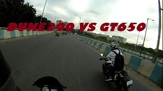 7. Duke390 vs GT650