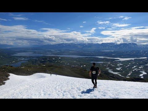 Björkliden Arctic Mountan Marathon (BAMM) 2017 (видео)