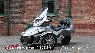 1. Motorcycle Review: 2014 Can-Am Spyder RT Touring | Driving.ca